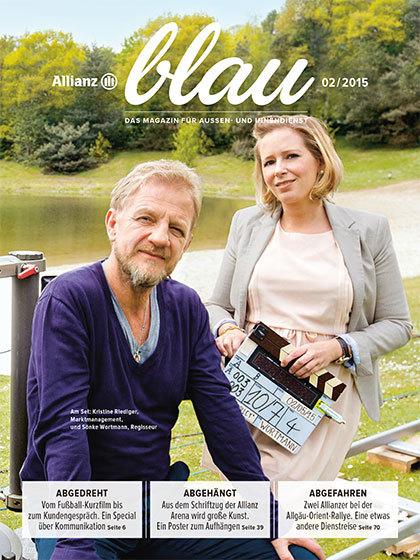 Allianz Blau Cover 2/2015